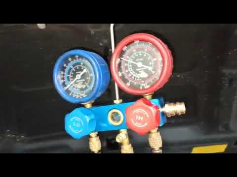 Compressor do ar condicionado celta parou de comprimir